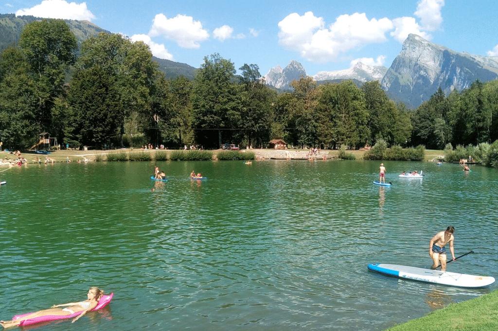 Morillon (et son lac bleu) en été