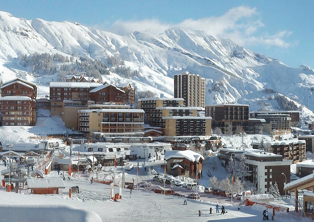 Orcières-Merlette en hiver