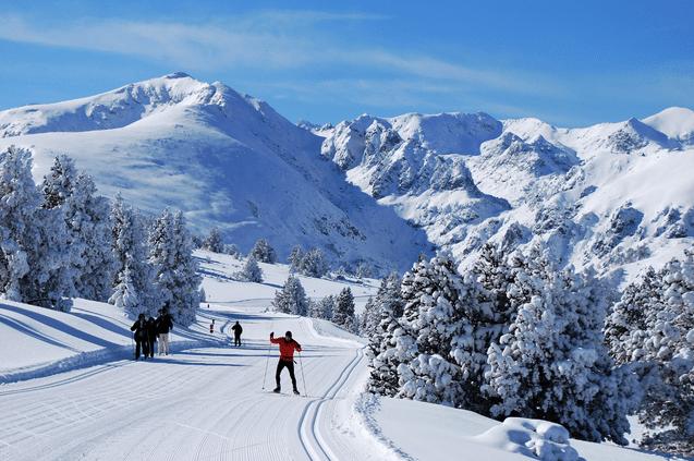 Plateau de Beille en hiver