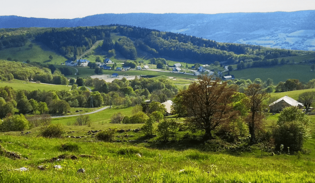 Plateau du Retord en été
