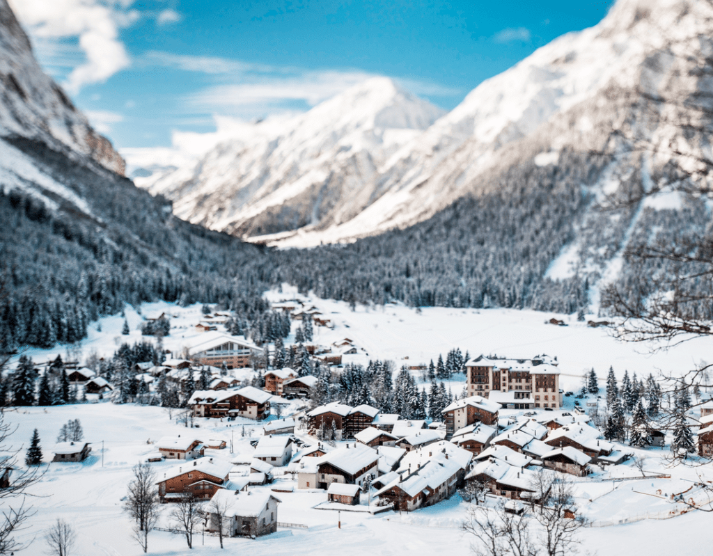 Pralognan la Vanoise en hiver