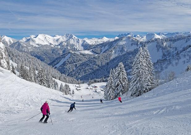 Roc d'Enfer (et Saint jean d'Aulps) en hiver