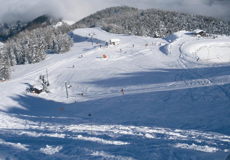 Roubion Les Buisses en hiver