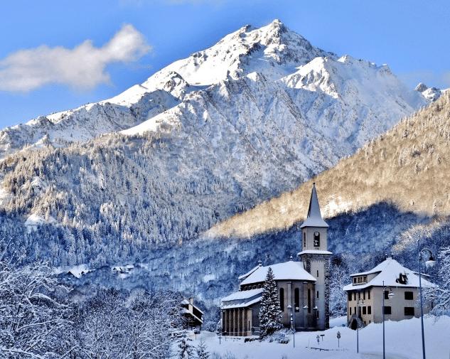 Saint Colomban des Villards en hiver