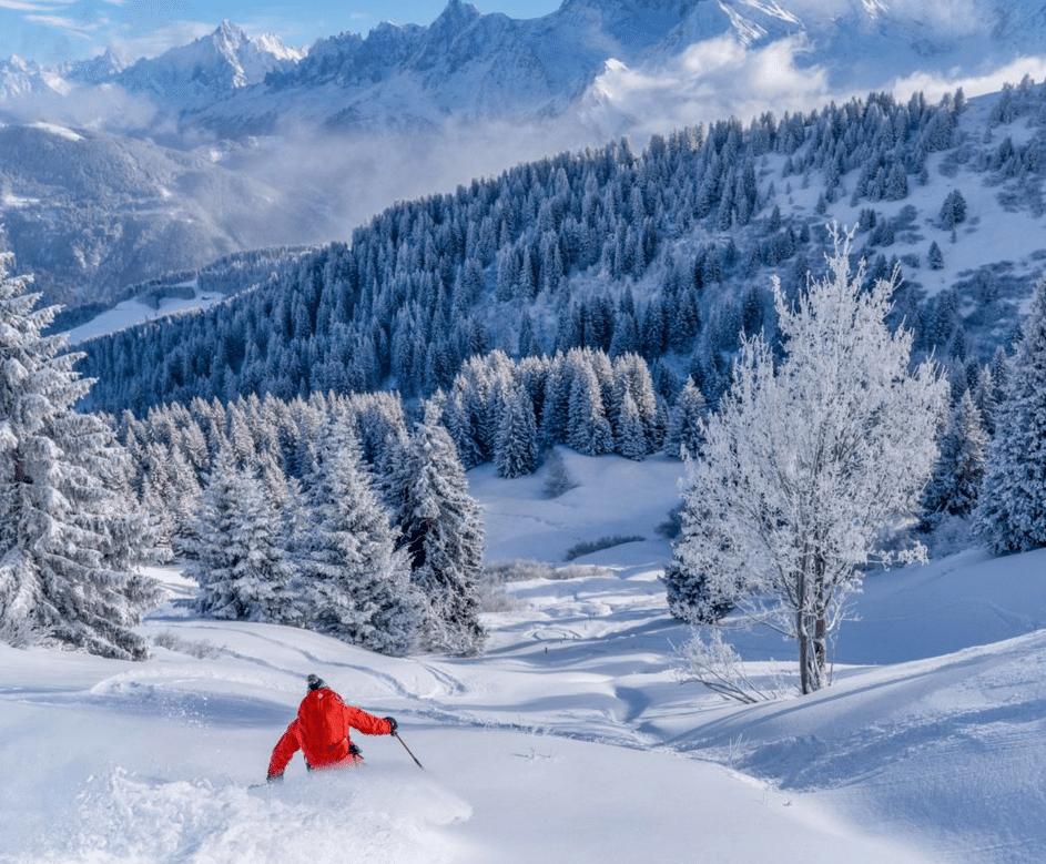 Saint Gervais les Bains, en hiver