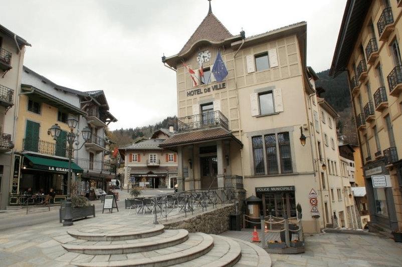 Saint Gervais les Bains, le centre bourg