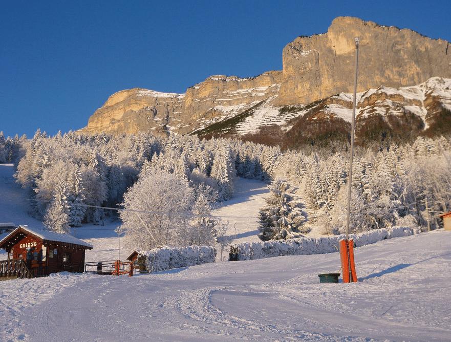 Saint Hilaire du Touvet en hiver