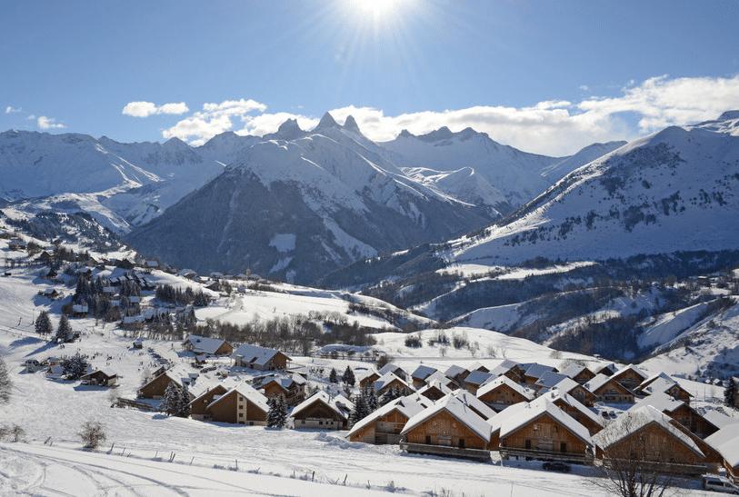 Saint Jean d'Arves en hiver
