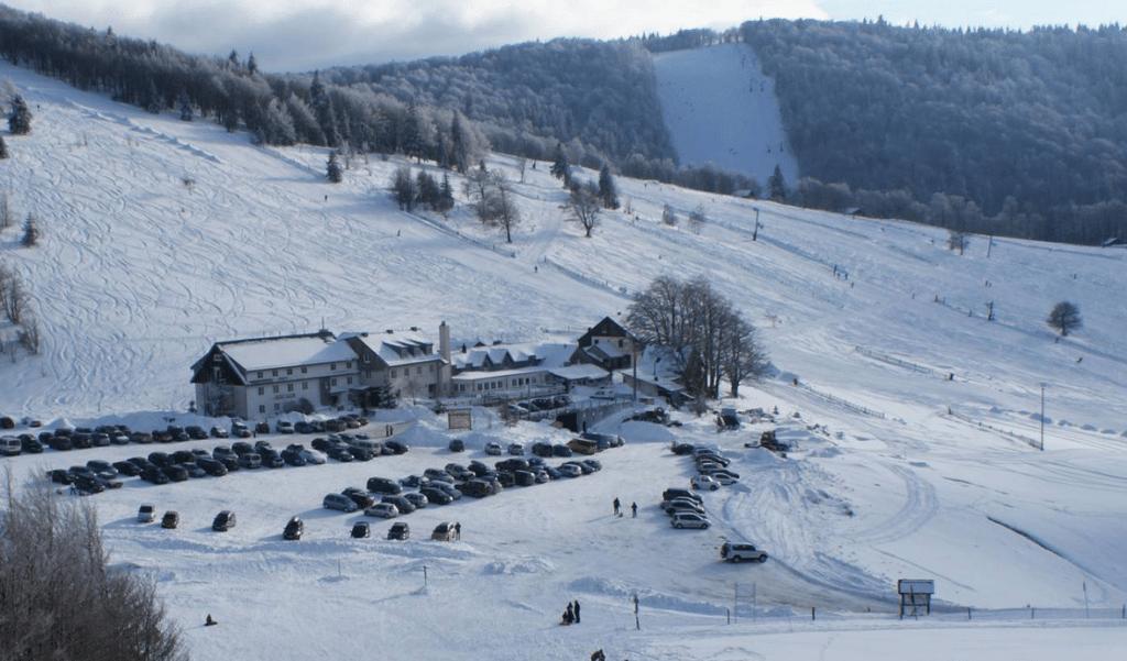 Saint Maurice sur Moselle en hiver