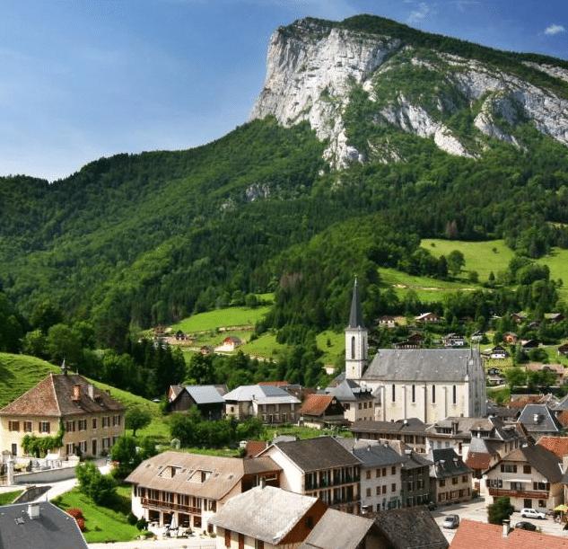 Saint Pierre de Chartreuse en été
