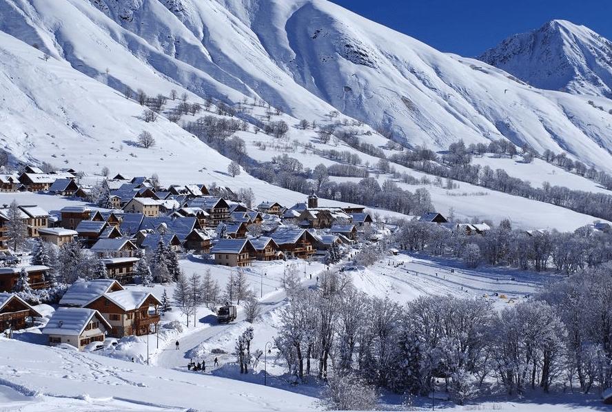Saint Sorlin d'Arves en hiver