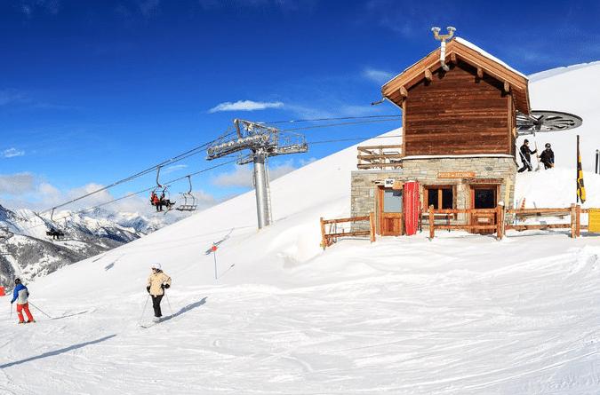 Saint Veran ( et son domaine skiable)
