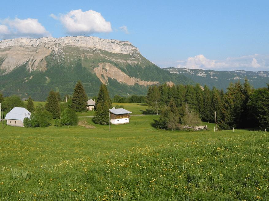Savoie Grand Revard en été