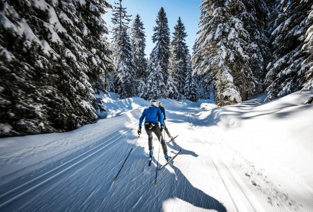 Savoie Grand Revard en hiver