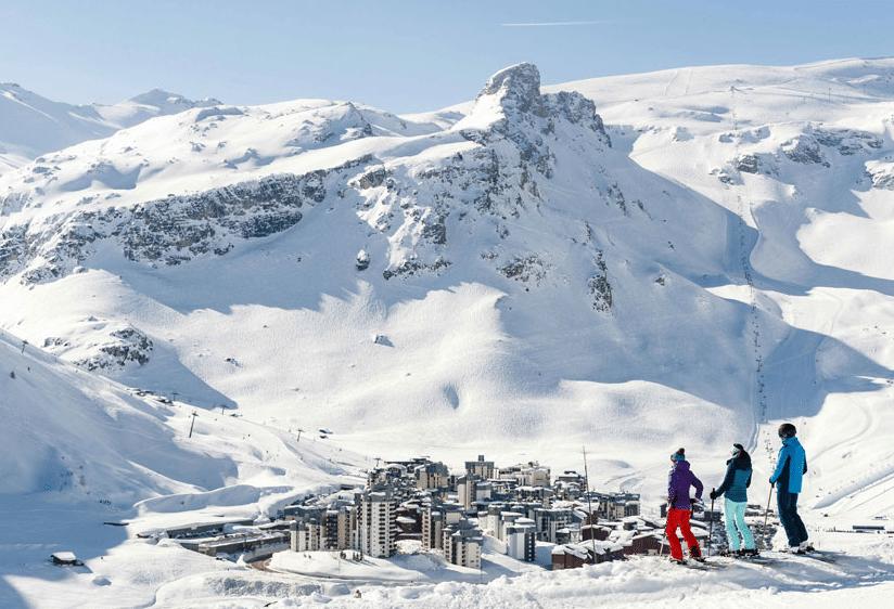 Tignes et son domaine skiable