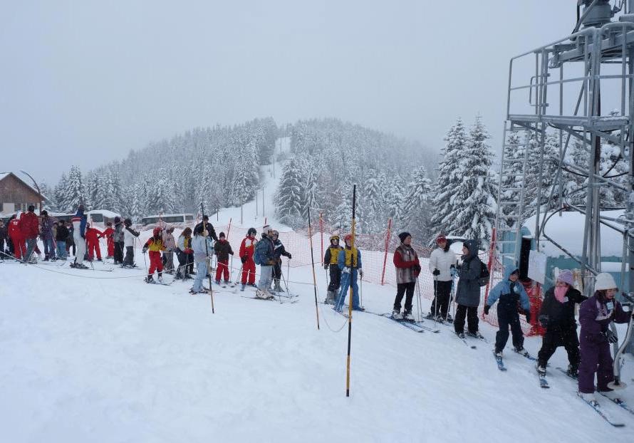 Turini Camp d'Argent en hiver