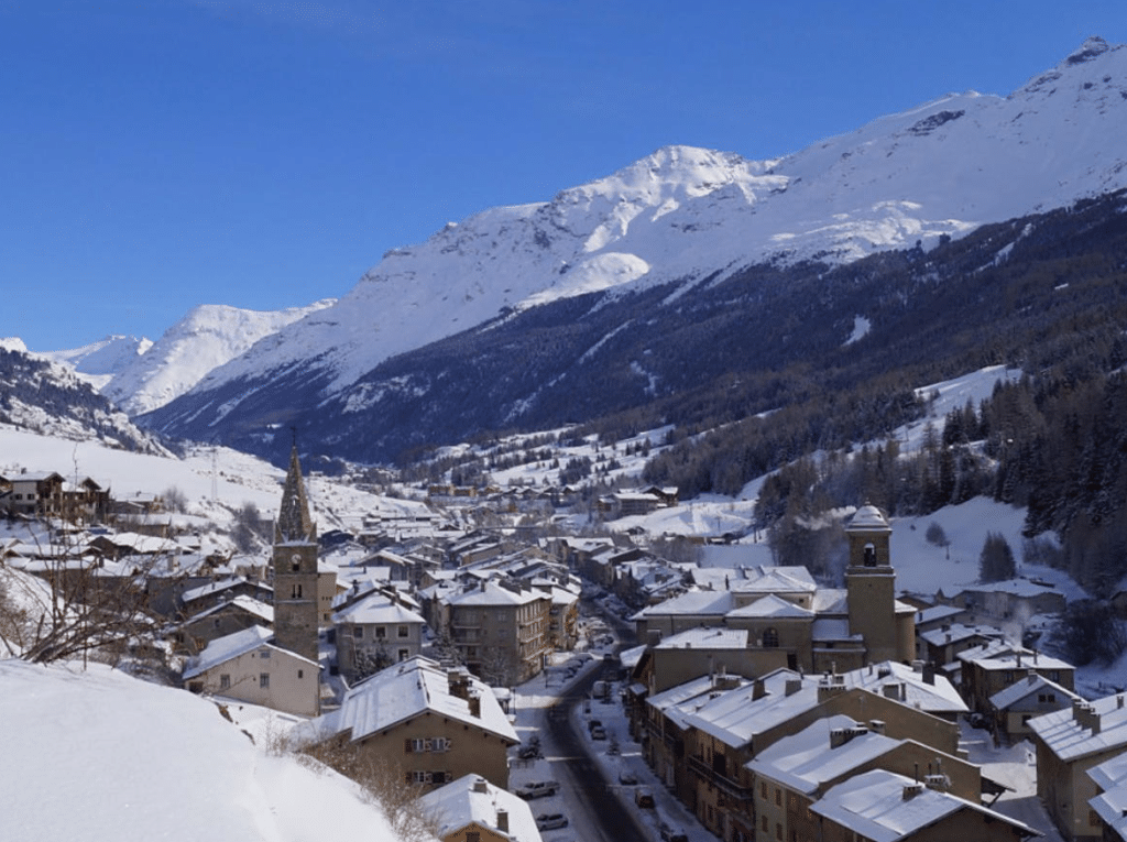 Val Cenis en hiver