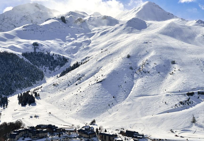 Val Louron en hiver