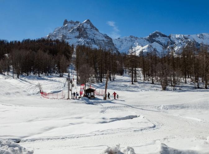 Val Pelens en hiver