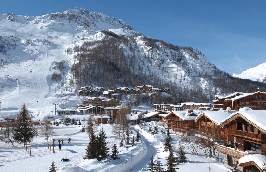 Val d'Isère en hiver