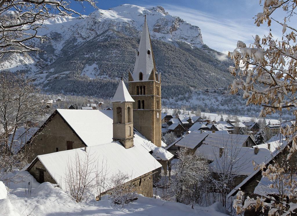 Vallouise Pelvoux en hiver