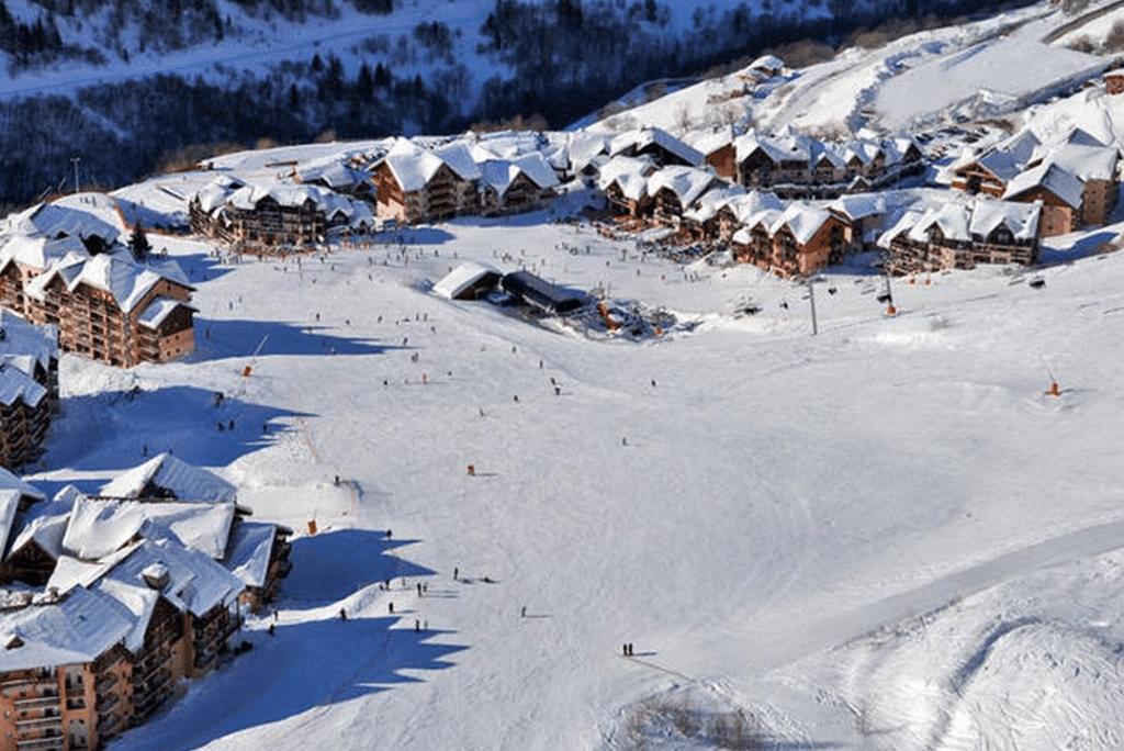 Valmeinier en hiver