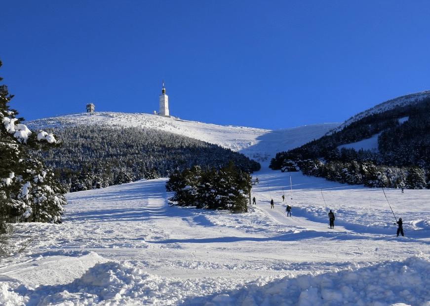 Ventoux, et son domaine skiable