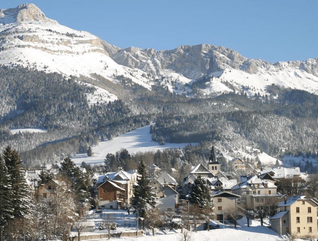 Villard de Lans pendant l'hiver
