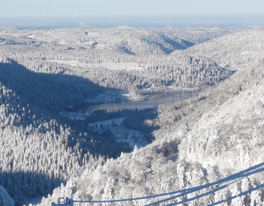 Xonrupt, et son paysage hivernal